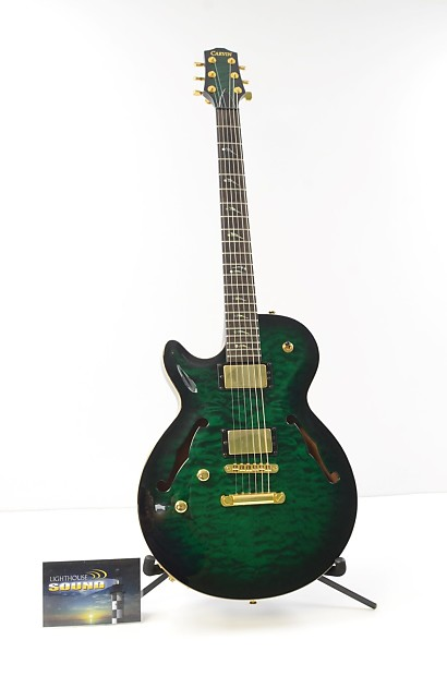 carvin left handed sh550 semi hollow electric guitar reverb. Black Bedroom Furniture Sets. Home Design Ideas
