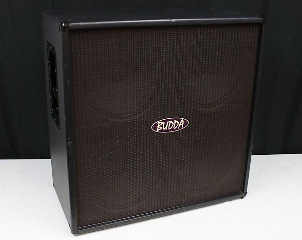 budda 4x12 guitar cabinet 8 ohms eminence speakers usa reverb. Black Bedroom Furniture Sets. Home Design Ideas