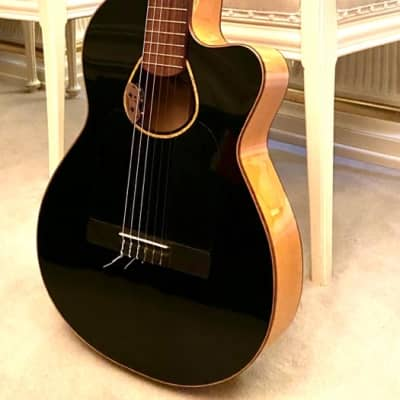 Versoul Touco Flamenco Cutaway w/LR Baggs  1997 Black for sale