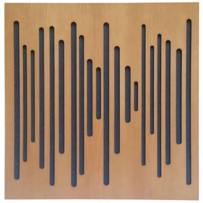 Vicoustic Wavewood | Absorption Panel | Box of 10 (Light Brown)
