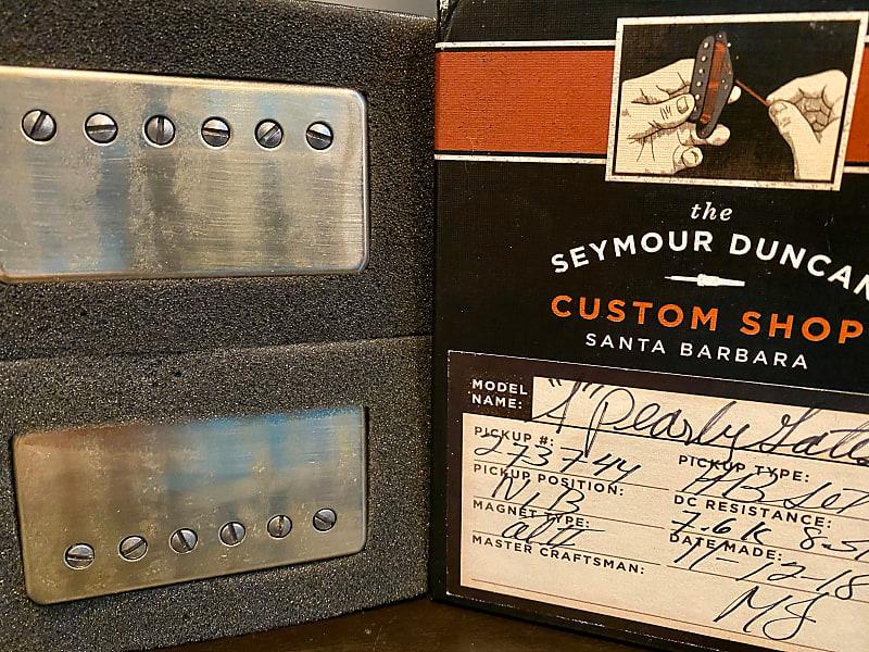 Seymour Duncan Custom Shop Antiquity Pearly Gates Set Aged Nickel