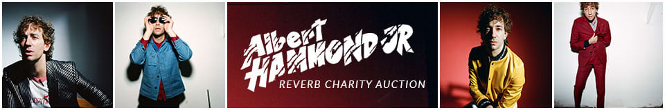 The Albert Hammond Jr. Reverb Charity Auction