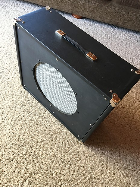 diy guitar speaker cabinet 15 2017 black silver reverb. Black Bedroom Furniture Sets. Home Design Ideas