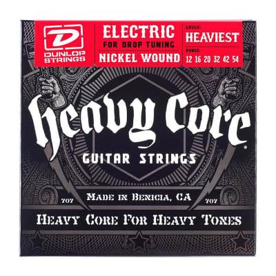 DunlopDHCN1046 Heavy Core Nickel-Plated Steel Electric Guitar Strings (10-46)