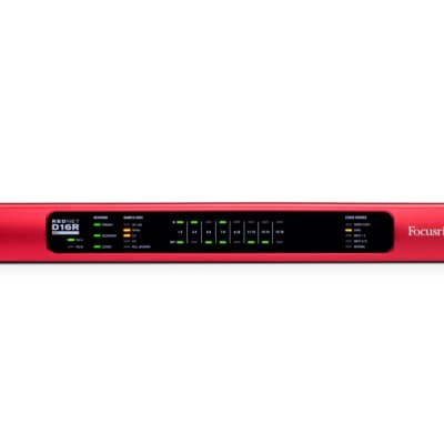 Focusrite RedNet D16R Dante Audio Interface