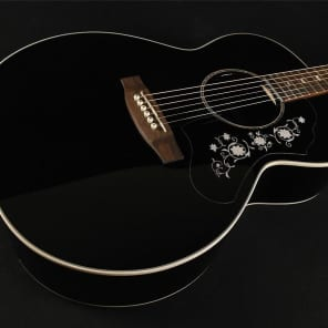 Takamine EG451DLX NEX Deluxe Acoustic/Electric - Black (013) for sale