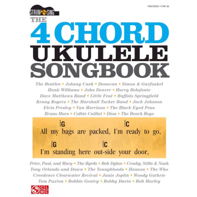 The 4-Chord Ukulele Songbook Strum & Sing Series