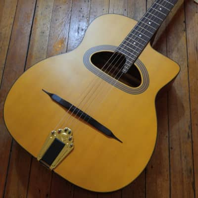 Cigano GJ-5 Student Grand Bouche Gypsy Jazz Guitar #15030237 for sale