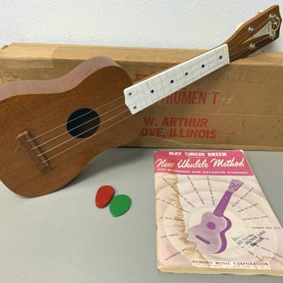 Kay Soprano Ukulele Uke with Original Shipping Box 1960's USA Vintage for sale