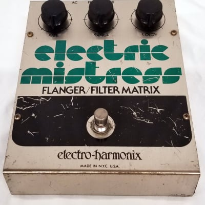 Electro-Harmonix Electric Mistress 1979 Silver for sale