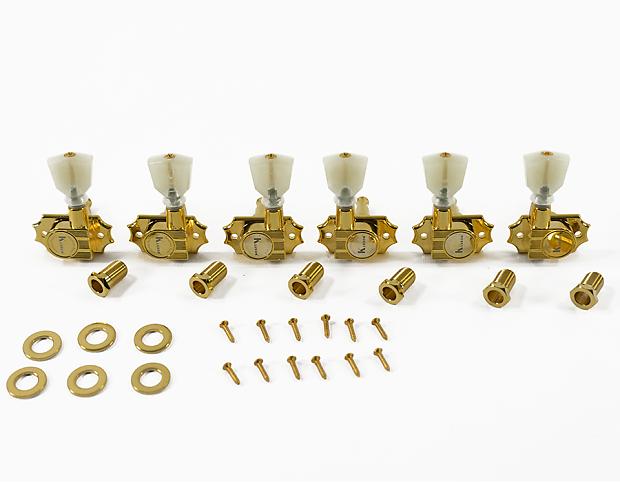 kluson revolution 19 1 ratio tuners gold pearl keystone reverb. Black Bedroom Furniture Sets. Home Design Ideas