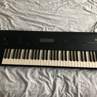 Korg Wavestation EX keyboard, very good condition, fully working, original manuals, flight case