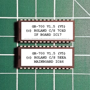 Roland GR-700 OS v5 (1.5) EPROM Firmware Upgrade KIT