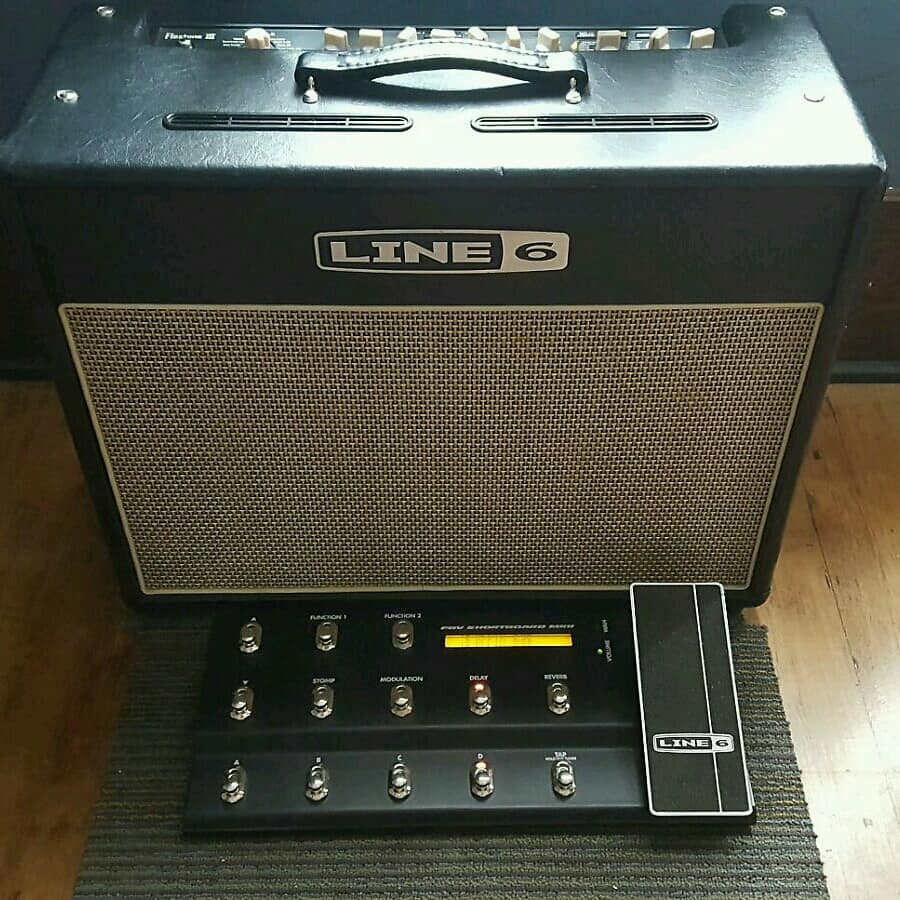 line 6 flextone iii 1x12 combo guitar amplifier fbv mkii reverb. Black Bedroom Furniture Sets. Home Design Ideas