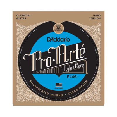 D'Addario EJ46 Classical Guitar Strings, Pro Arte Hard Tension