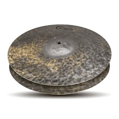 "Dream Cymbals 15"" Dark Matter Series Energy Hi-Hat Cymbals (Pair)"