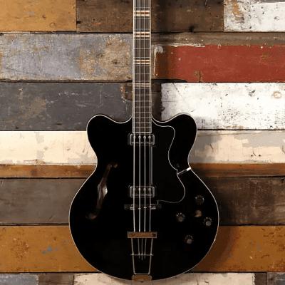 Hofner HCT-500/7-BK Verythin Reissue Bass Black