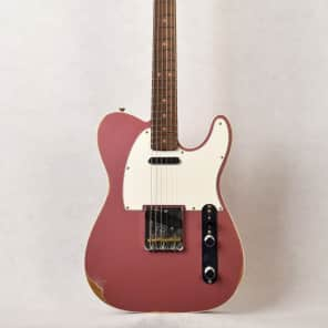 Fender Custom Shop '60 Relic Telecaster Custom Burgundy Mist for sale