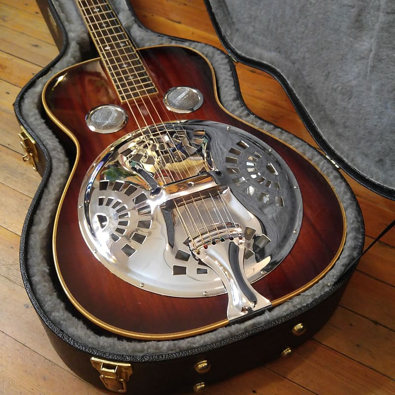 Gold Tone Paul Beard Square Neck Resonator Guitar Two Tone