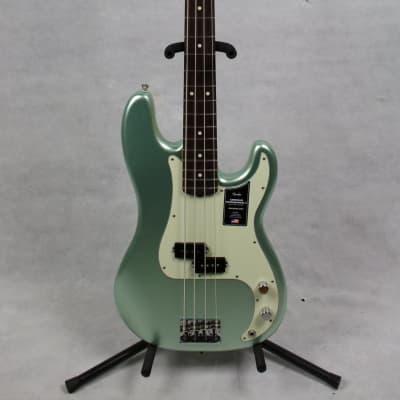 Fender American Professional II Preceision Bass, Rosewood Fingerboard, Mystic Surf Green