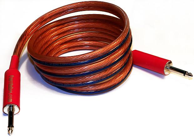 Eurotubes 10 Gauge 7 Foot Speaker Cable Eurotubes Inc