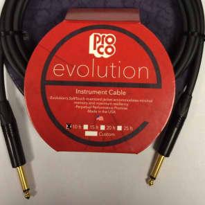"ProCo EVLGCN-10 Evolution 1/4"" TS Instrument Cable - 10'"