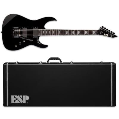 ESP LTD JH-600 Jeff Hanneman Black BLK Electric Guitar + Hardshell Case JH600 JH 600 for sale
