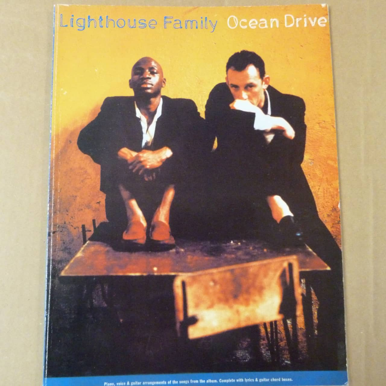Songbook Lighthouse Family Ocean Drive 1996 Reverb