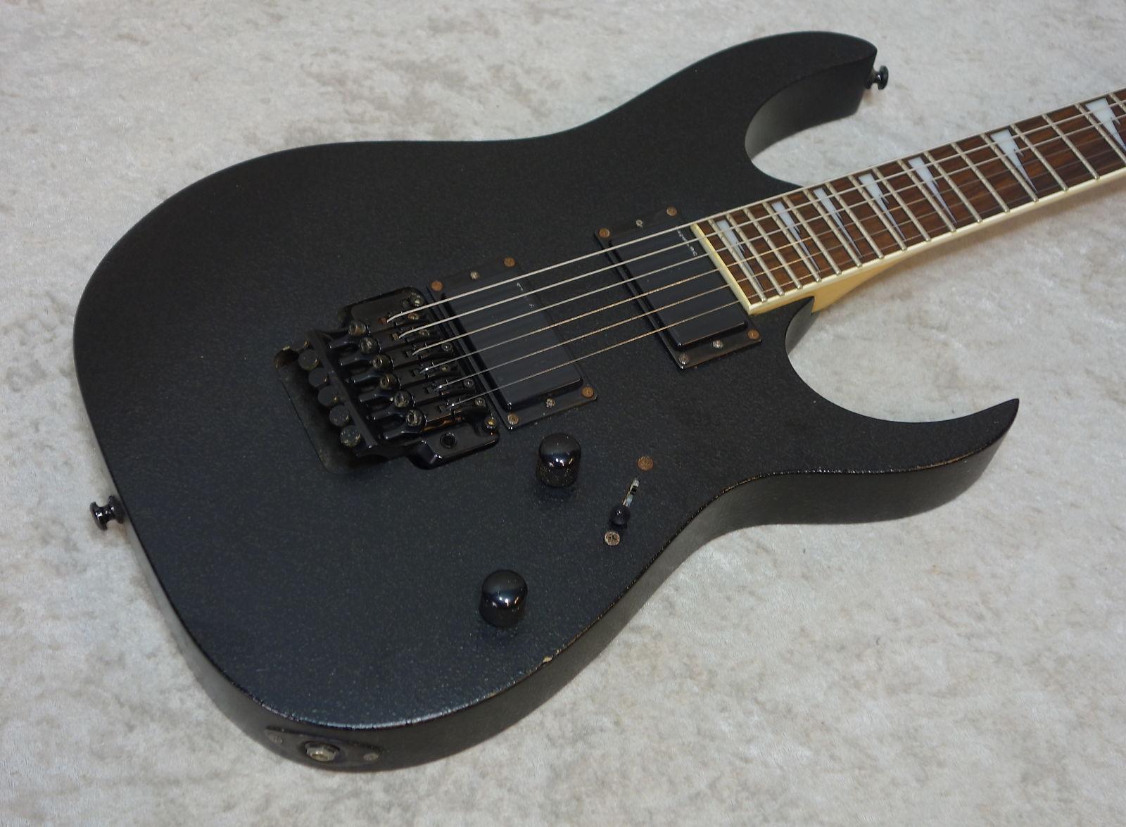 Ibanez RG Series RGR320EX electric guitar Road Rage black