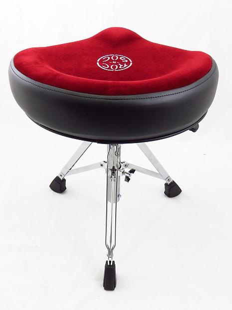 roc n soc nrr nitro series red drum throne w saddle seat reverb. Black Bedroom Furniture Sets. Home Design Ideas