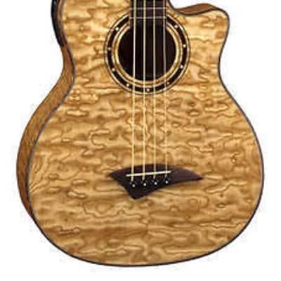 Dean Exotica Quilt Ash A/E Bass w/Aphex® GN for sale