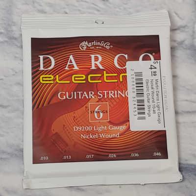 Martin Darco Light Gauge Nickel Wound 10-46 Electric Guitar Strings