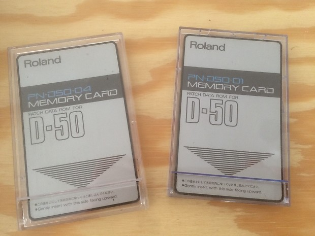 Roland PN-D50-01 ROM Patch Data Memory Card for D-50 / D-550