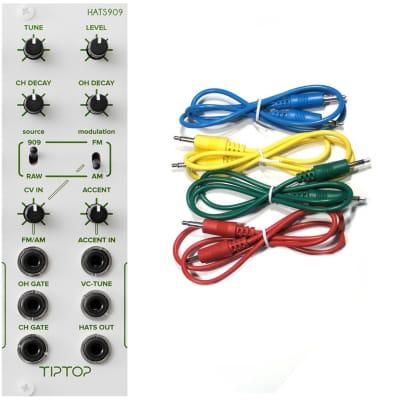 TipTop Audio HATS909 Hi-Hats Generator Synth Module Bundle