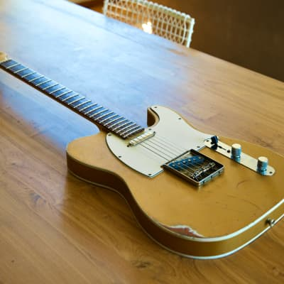 Hansen T-Style 2021 'Goldtop' (Pete Honore Recreation) for sale