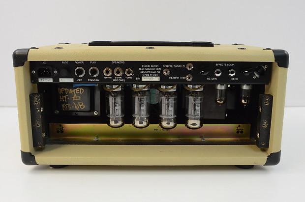 Fuchs Overdrive Supreme Ods 100 100 Watt Head W Footswitch
