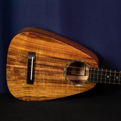 "Romero Creations Tiny Tenor Ukulele- Koa - ""Nonolo"" - Dani Joy Music"