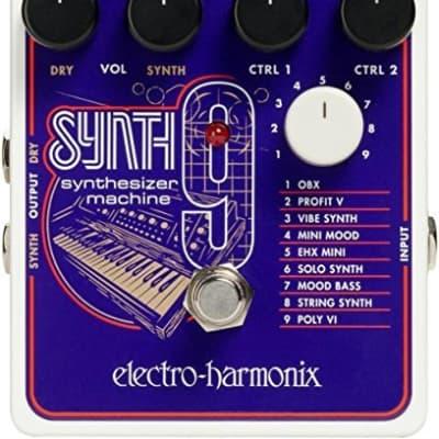 Electro Harmonix NEW SYNTH9 Synthesizer Machine, 9.6DC-200 PSU Included