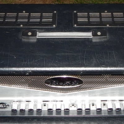 B-52 AT-100 100 watt tube guitar amp head with pedal for sale