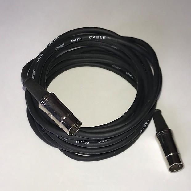Hosa Midi 15' 5-pin MIDI Cable | 36 Prime