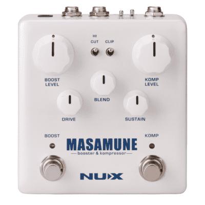 NUX Masamune Booster & Kompressor Pedal  + Free Shipping