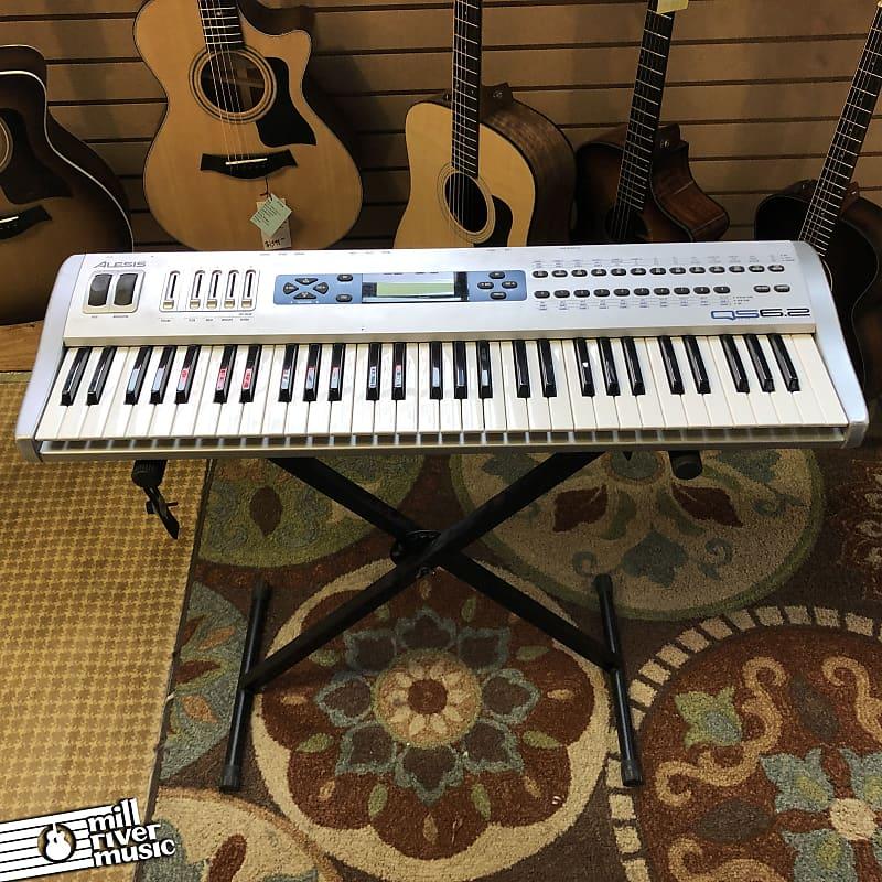 Alesis QS6.2 61-Key Synthesizer Keyboard 2000s