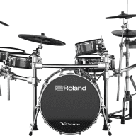 Roland V-Drums TD-50KV Electronic Drum Kit + KDA22 Kick Trigger (TD50KV + KDA22)