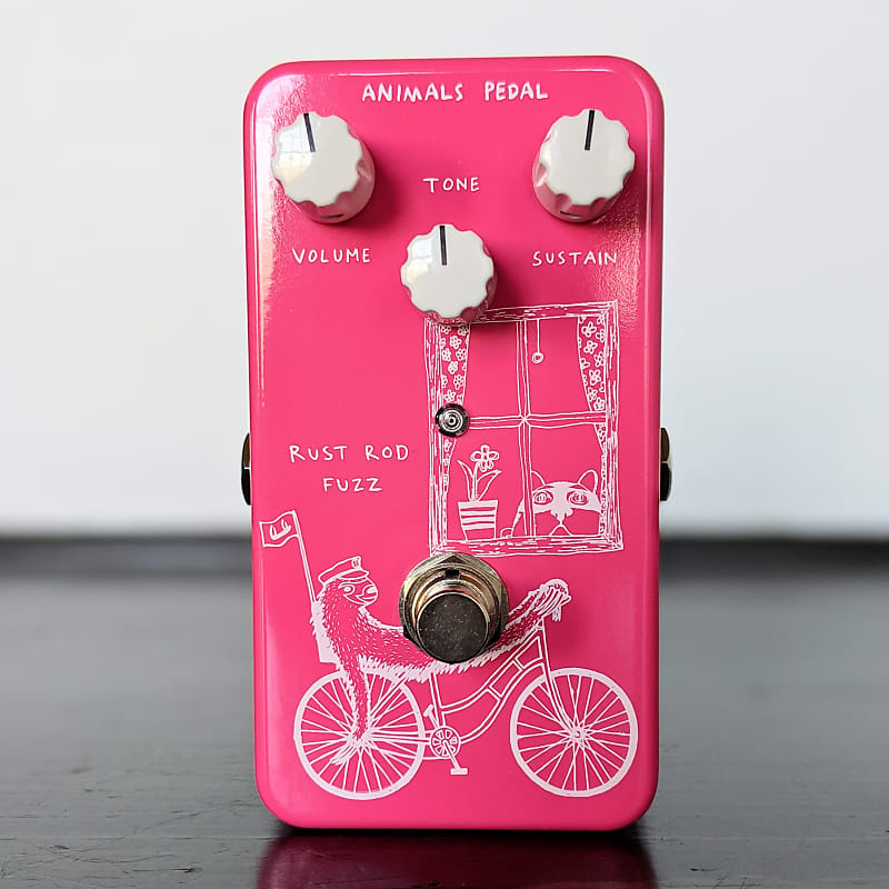 Animals Pedal Rust Rod Fuzz Designed By Skreddy Pedals