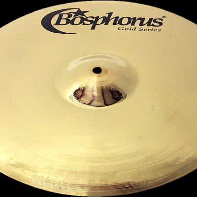 "Bosphorus 16"" Gold Series Full Crash Cymbal"