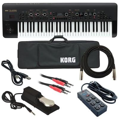 Korg KingKorg Analog Modeling Synthesizer - Black - Stage Rig