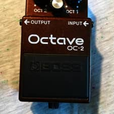 Boss OC-2 Octave Pedal Vintage Black Label