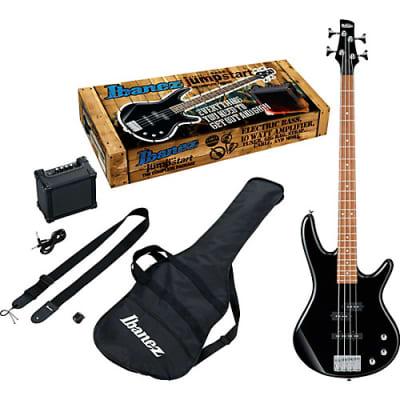 Ibanez IJSR190N Electric Bass Jumpstart Pack, Black Night Finish- Free shipping lower USA!