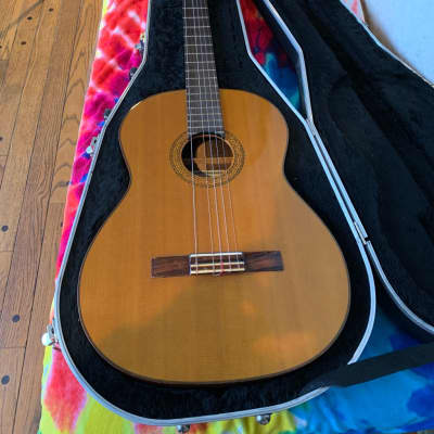 Early 70's Aria Classical Nylon String Guitar Spruce Top, Rosewood Sides, Mahogany Neck Ser#00589 for sale