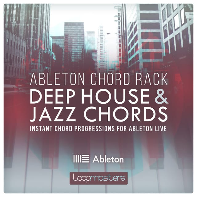 Loopmasters Ableton Chord Rack Deep House Jazz Chords